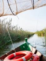 Detalle típica barca de la zona (albuferenc)