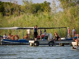 típica barca de la zona (albuferenc)