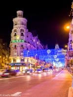 Puerta del Sol, Madrid en Navidad