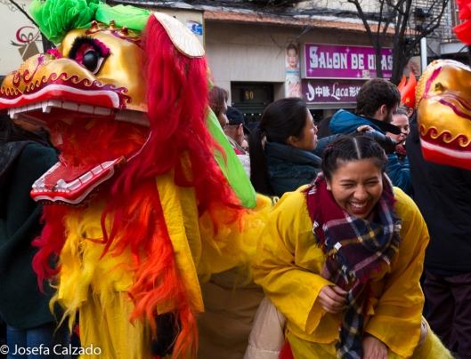 Las risas fueron protagonistas durante todo el desfile