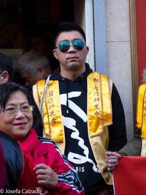 En el Centro de Mayores Chinos