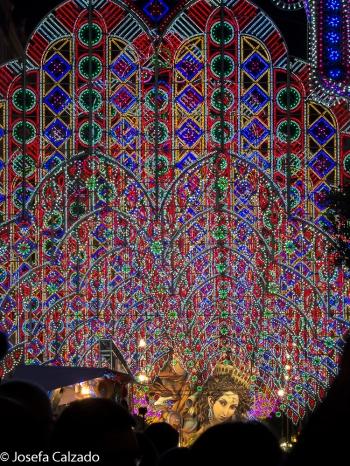 Iluminación Falla Sueca-Literato Azorín
