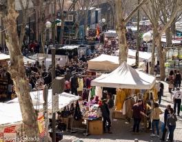 Vista general calle Ribera de Curtidores