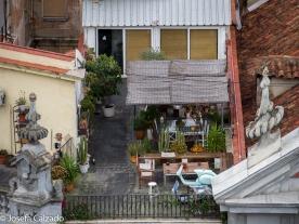 Terraza en los tejados