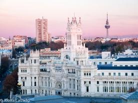 Ayuntamiento de Madrid, Palacio de comunicaciones y Torrespaña