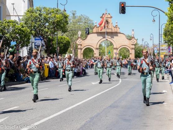 Comienza el desfile