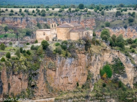 Vista lateral Ermita San Frutos