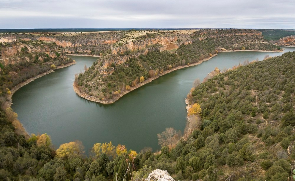 Panorámica de las Hoces del Río Duratón