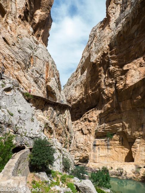 Vista desde el Valle del Desfiladero