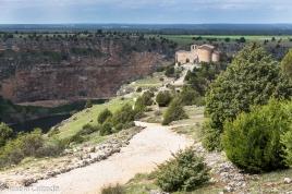 Vista del camino a la Ermita de San Frutos