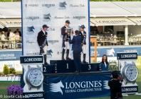 Podium del Longines GCT Gran Premio de Madrid