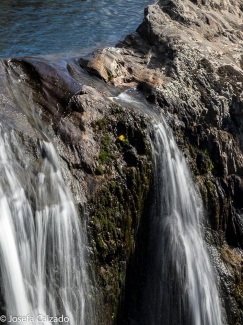 Detalle caida primera a segunda cascada