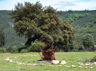 Escultura del Quijote