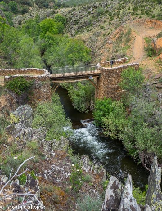 Vista del puente de Matallana