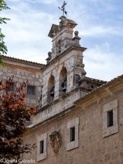 Detalle fachada Convento de las Trinitarias del Toboso