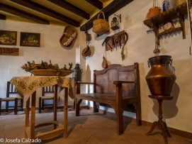 Detalle de la antigua cocina