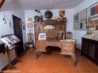 Sala-Museo dedicado a D. Miguel de Cervantes y a Don Quijote