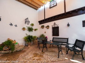 Rincón del patio interior