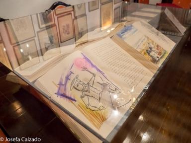 Detalle Don Quijote Manuscrito y Políglota