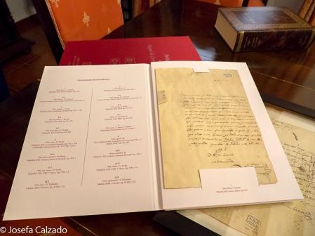 Detalle de fotocopia del original de Don Quijote