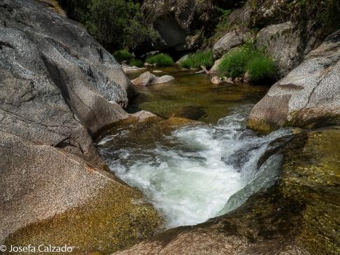 Detalle Pozas del río Eresma