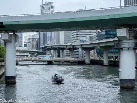 Osaka - orilla río Yodo