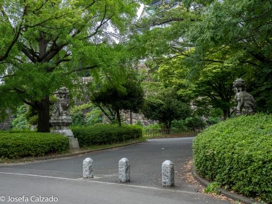 Par de estatuas Komainu
