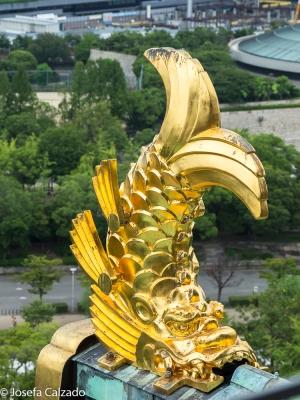 Detalle ornamento de oro