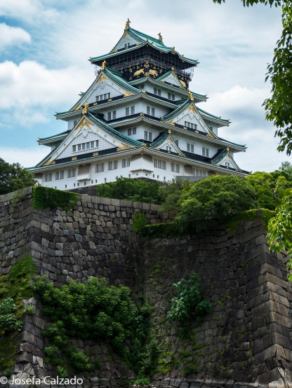 Vista Castillo de Osaka