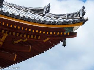 Templo Todaiji, detalle tejado