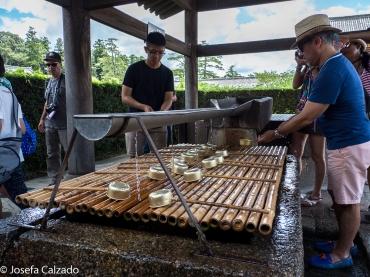 Temizu, ceremonia de purificación