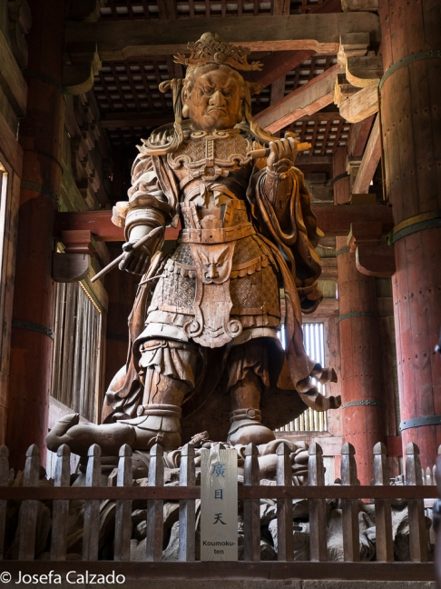 Guardián protector de Buda, Tamonten o Señor que Todo lo Oye.