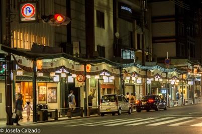Calle principal Barrio de Gion