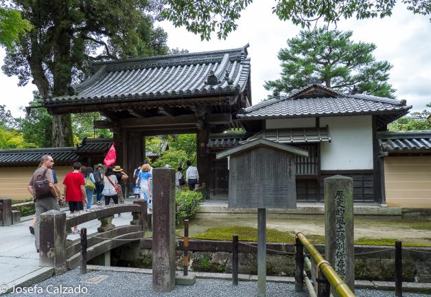 Entrada Templo Kinkakuji
