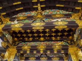 Detalle decoración en oro