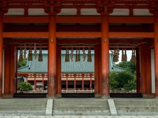 Entrada principal Santuario Shintoísta de Heian