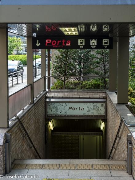Entrtada a las Galerías Subterraneas Porta