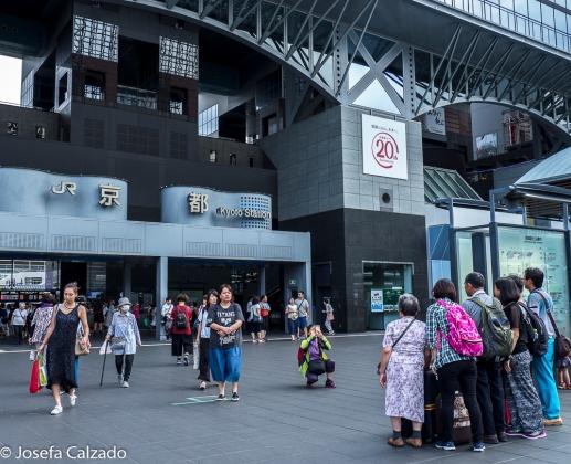Entrada principal Estación Central Kyoto