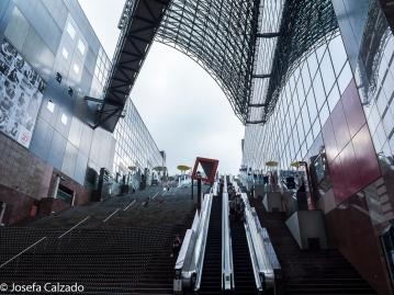 Escaleras hacia la terraza