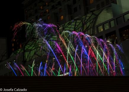 Espectáculo de luz y sonido
