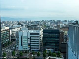 Vista diurna desde el Hotel Gran Vía