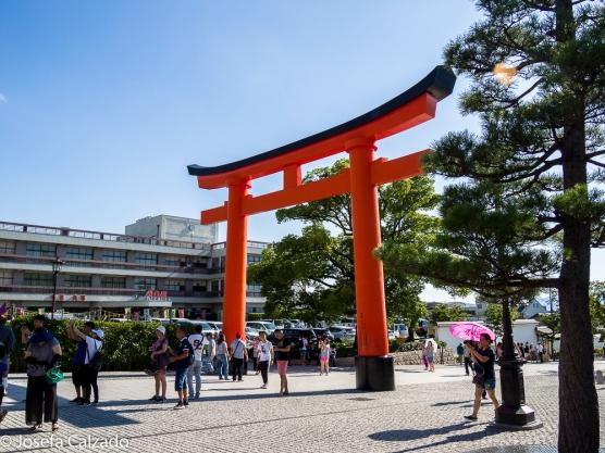 Gran Tori Santuario Shintoísta de Fushimi Inari