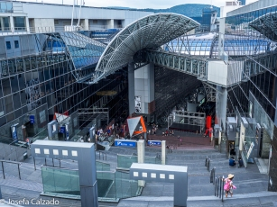 Vista desde la terraza de la estación