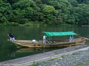 Desmontando la barcaza