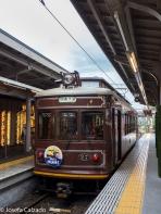 Estación de tren ligero de Arashiyama