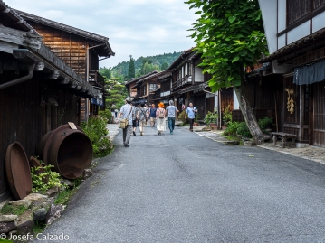 Calle principal de Tsumago