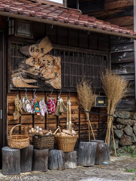 Detalle tienda artesanía