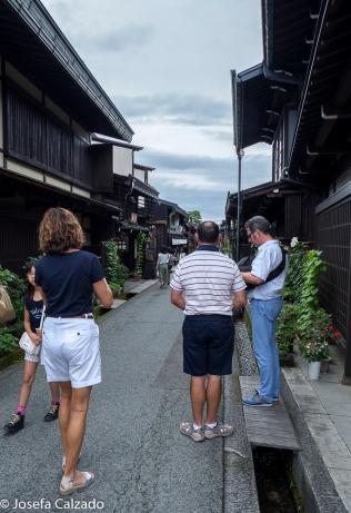 Una de las tres calles principales de San-machi Suji