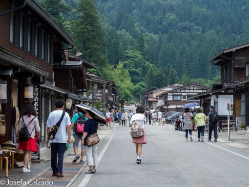 Calle principal de Ogimachi
