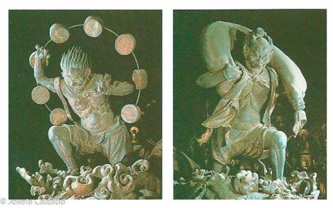 Dioses del trueno y del viento